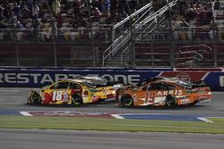 Kyle Busch, Joe Gibbs Racing, Toyota Camry M&M's Red Nose Day, Daniel Suarez, Joe Gibbs Racing, Toyota Camry ARRIS