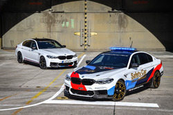 Le safety car MotoGP BMW M5 avec la BMW M5