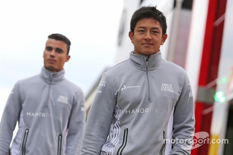 Rio Haryanto, Manor Racing and Pascal Wehrlein, Manor Racing