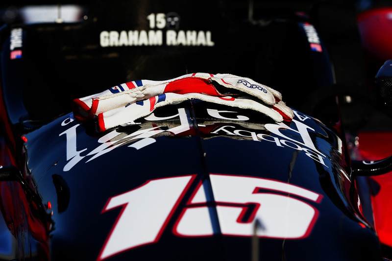 Auto von Graham Rahal, Rahal Letterman Lanigan Racing, Honda