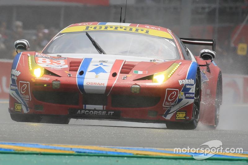 #83 AF CorseFerrari 458 Italia: François Perrodo, Emmanuel Collard, Rui Aguas
