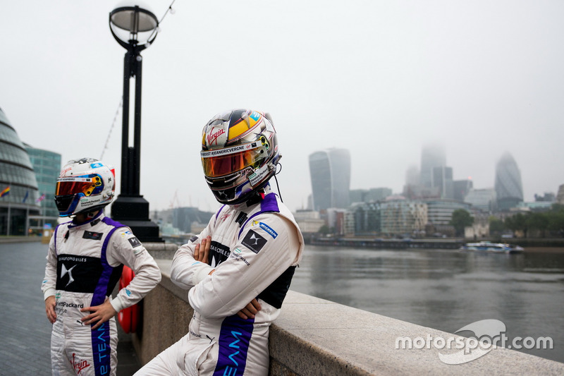 Jean-Eric Vergne ve Sam Bird, DS Virgin Racing