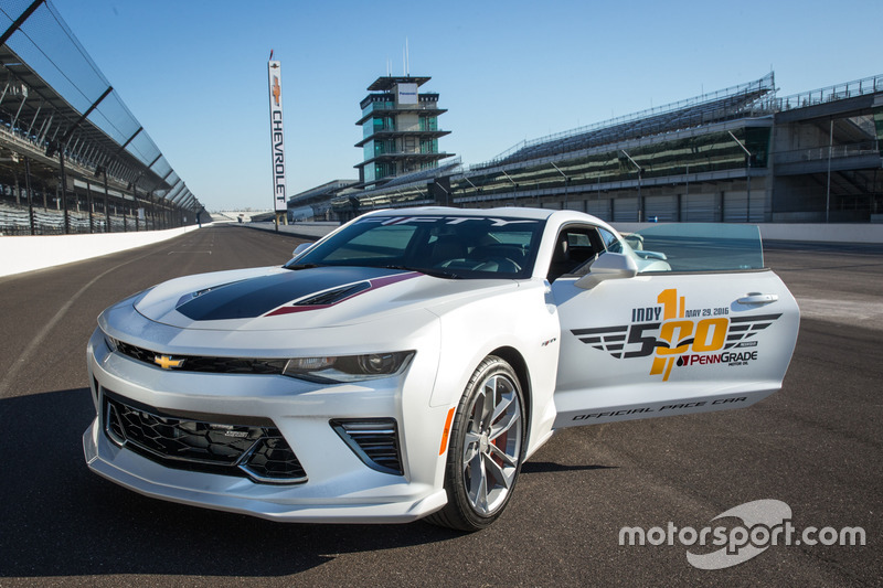 2017 Camaro SS 50th Anniversary Edition, official Indy 500 pace car