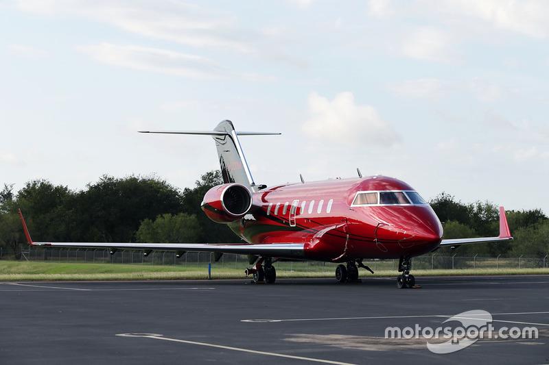 الطائرة الخاصة بلويس هاميلتون، مرسيدس