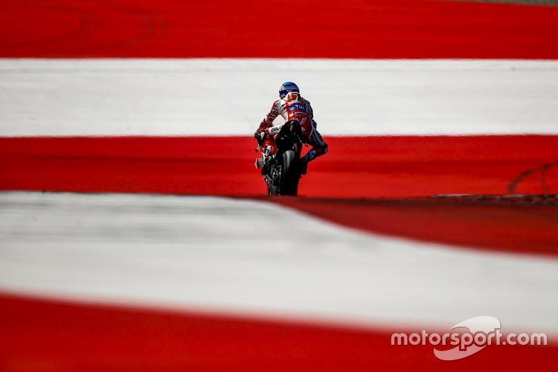 Мікеле Пірро, Ducati Team, липень, тести у Шпілберзі