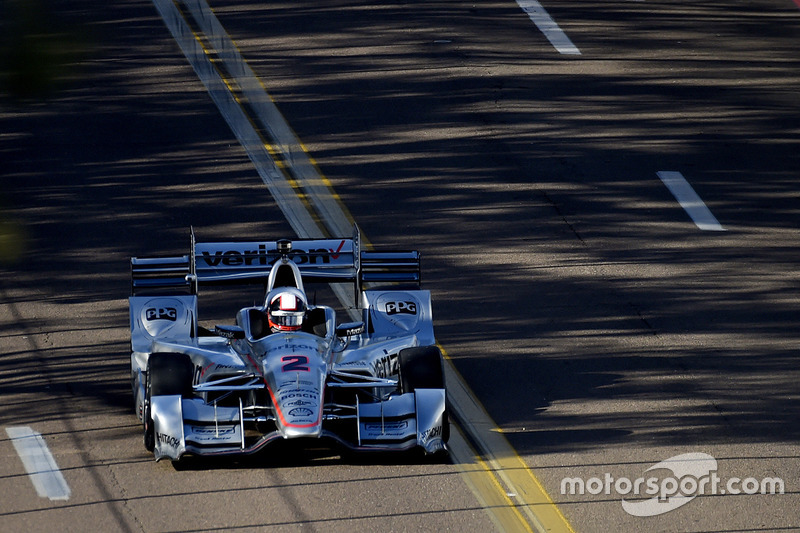 Juan Pablo Montoya Team Penske Chevrolet St Petersburg Photos Indycar Motorsport Com