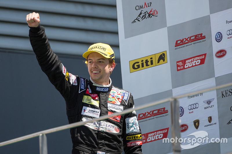 Race winner Jake Parsons