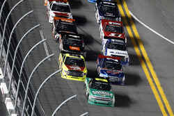Johnny Sauter, GMS Racing Chevrolet leads