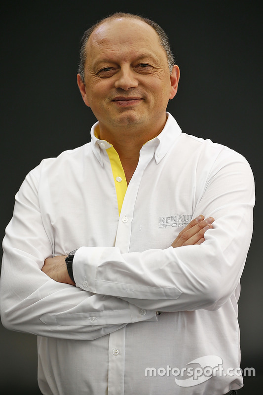 Frederic Vasseur, Renault Sport Formula One Team Racing Director