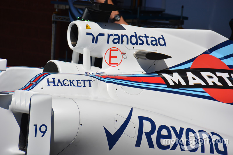 Detail, Williams FW38