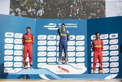 Подиум: победитель гонки - Себастьен Буэми, Renault e.Dams, второе место - Даниэль Абт, ABT Schaeffl