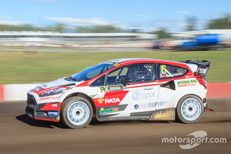 Janis Baumanis, World RX Team Austria