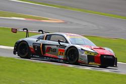 #21 Audi Team Hitotsuyama Audi R8 LMS: Richard Lyons, Tomonobu Fujii