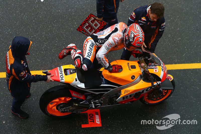 Boxengasse: Marc Marquez, Repsol Honda Team