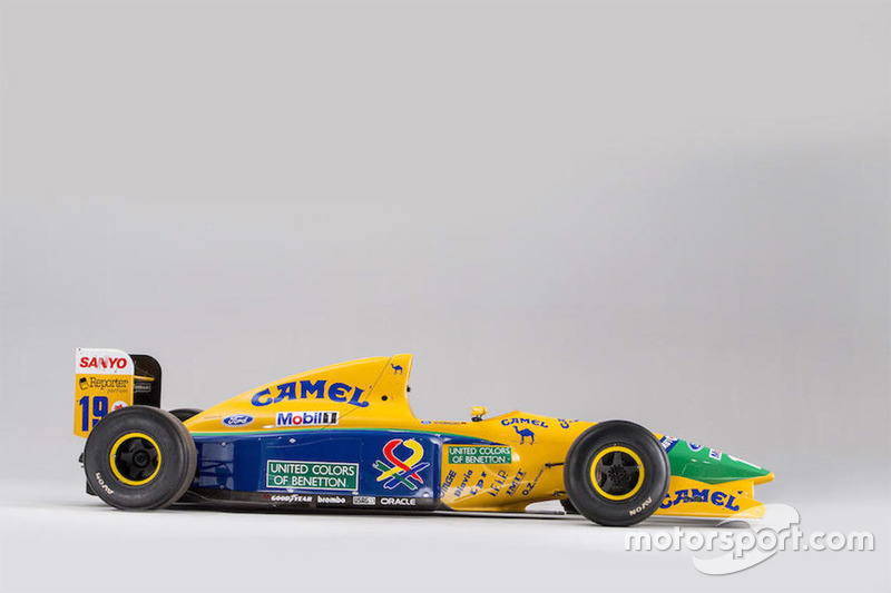 Michael Schumacher Benetton auction