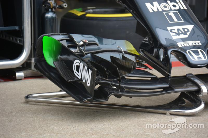 McLaren MP4-31, Frontflügel