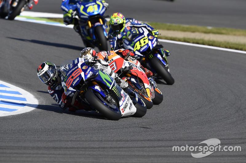 Jorge Lorenzo, Yamaha Factory Racing, Marc Marquez, Repsol Honda Team, Valentino Rossi, Yamaha Facto
