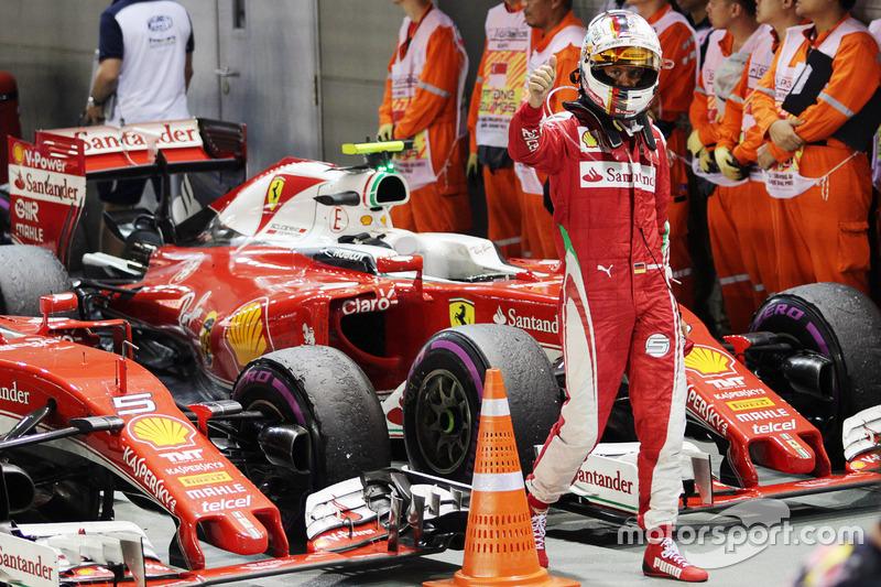 Ferrari: 22 очка