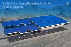 Faraday Future, rendering fabbrica Las Vegas