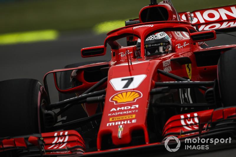 6: Kimi Raikkonen, Ferrari SF71H, 1'15.330