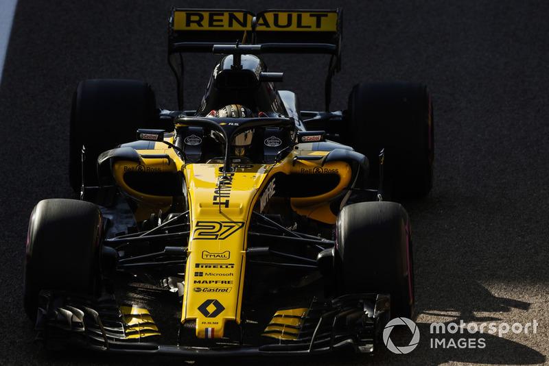 8. Nico Hülkenberg, Renault Sport F1 Team R.S. 18