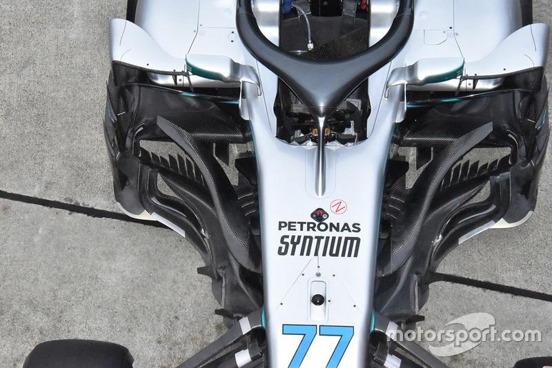 Mercedes-AMG F1 W09 de Valtteri Bottas