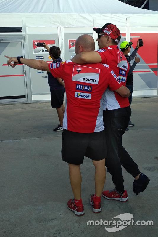 Хорхе Лоренсо, Ducati Team, після аварії