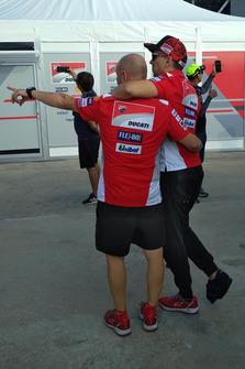 Jorge Lorenzo, Ducati Team viene portato al centro medico dopo l'incidente