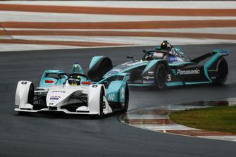 Tom Dillmann, NIO Formula E Team, NIO Sport 004 Nelson Piquet Jr., Panasonic Jaguar Racing, Jaguar I-Type 3
