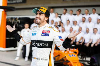 Fernando Alonso, McLaren, e il team McLaren