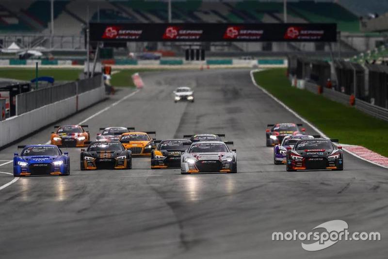Start, Audi R8 LMS Cup