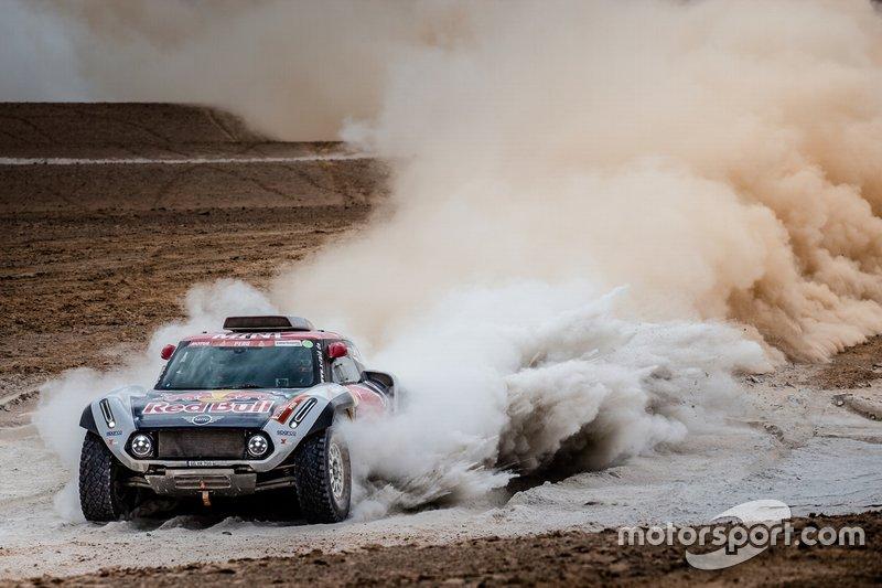 #308 X-Raid Mini JCW Team: Cyril Despres, Jean-Paul Cottret