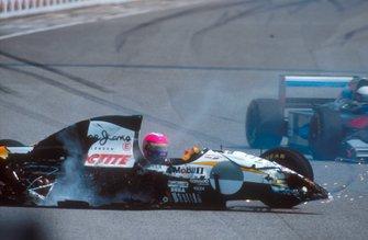 Crash: Pedro Lamy, Lotus 107C