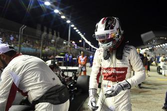 Charles Leclerc, Sauber sur la grille