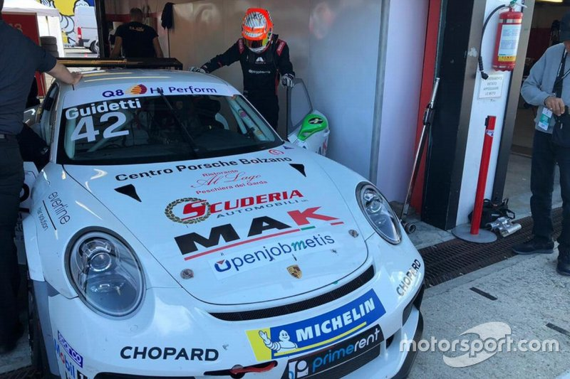 Guidetti in Carrera Cup con Duell Race