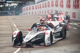 Felipe Nasr, Dragon Racing, Penske EV-3 Pascal Wehrlein, Mahindra Racing, M5 Electro, Jérôme d'Ambrosio, Mahindra Racing, M5 Electro