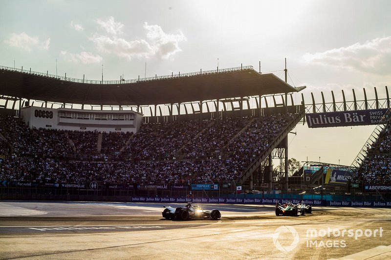 Oliver Rowland, Nissan e.Dams, Nissan IMO1 Lucas Di Grassi, Audi Sport ABT Schaeffler, Audi e-tron FE05, Sébastien Buemi, Nissan e.Dam, Nissan IMO1
