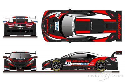 Modulo Super GT renk düzeni