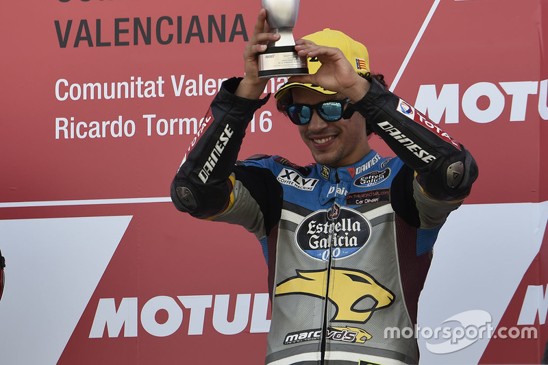 Podium: 3. Franco Morbidelli, Marc VDS