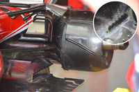 Ferrari SF16-H floor strake detail