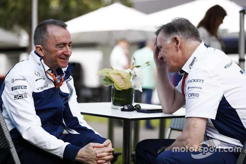 Paddy Lowe, Williams F1, mit Mike O'Driscoll, Williams