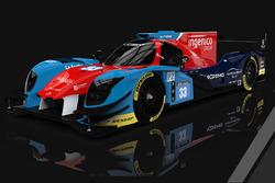 Eurasia Motorsport Ligier LMP2
