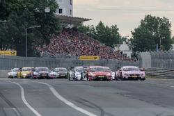 Nico Müller, Audi Sport Team Abt Sportsline, Audi RS 5 DTM, Lucas Auer, Mercedes-AMG Team HWA, Mercedes-AMG C63 DTM