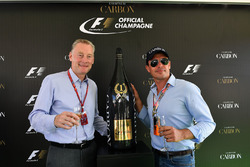 Sean Bratches, Formula One Managing Director, Commercial Operations and Alex Mea