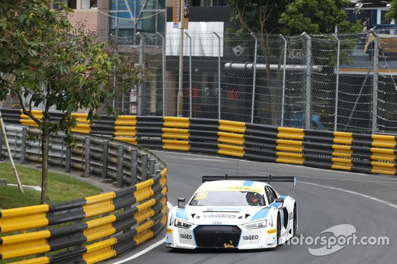 7. Fabian Plentz, Team HCB-Rutronik-Racing, Audi R8 LMS