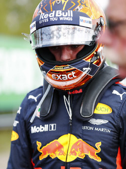 Max Verstappen, Red Bull Racing after retiring