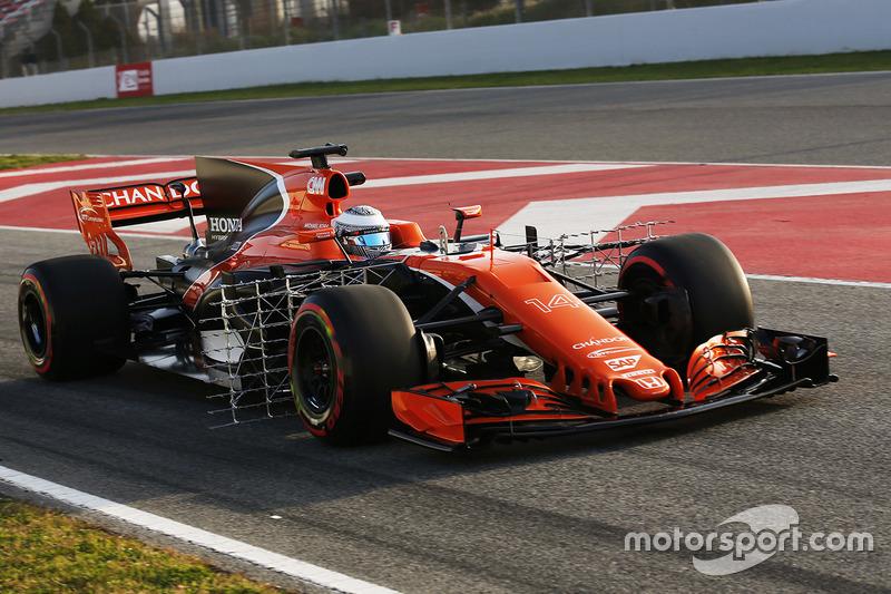 Fernando Alonso, McLaren MCL32 Honda