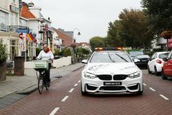 Maxime Martin, BMW Team RBM, BMW M4 DTM nella BMW M4 Safety car