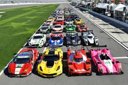 Starterfeld: Alle Autos für die 24h Daytona 2017