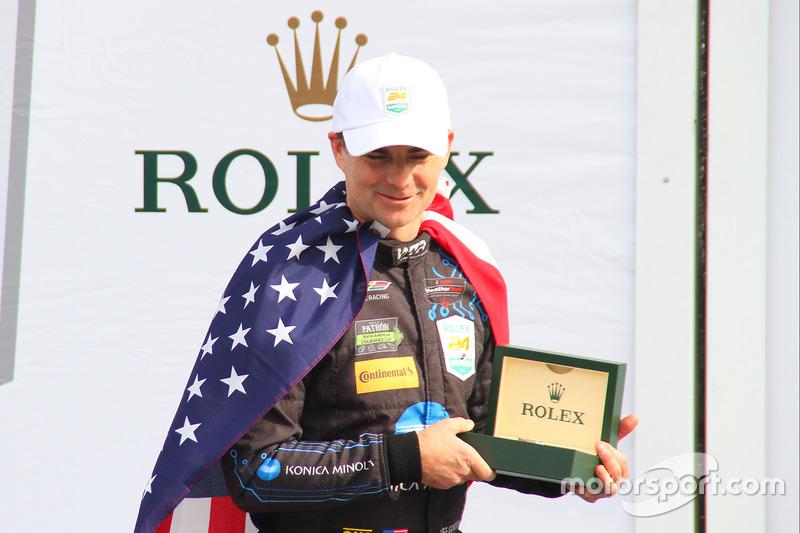 Podium: ganador, Jeff Gordon, Wayne Taylor Racing